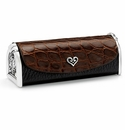 Brighton B Wishes Lipstick Case Black-Chocolate
