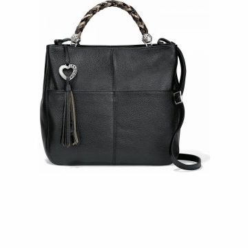 Brighton Bahamas Handled Tote Black