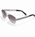 Brighton Barcelona Sunglasses Silver
