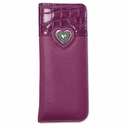 Brighton Bellissimo Heart Reader Case Guavaberry