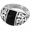 Brighton Black Catania Ring Size 7