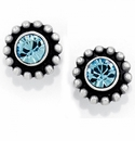 Brighton Blue Twinkle Color Mini Post Earrings