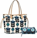Brighton Blueprint Willow Handbag
