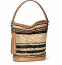 Brighton Colora Raffia Bucket
