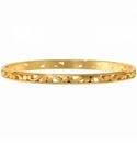 Brighton Contempo Slim Bangle Gold