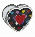 Brighton Crazy Heart Bright Compact Heart Mirror