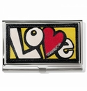Brighton Crazy Love Bright Card Case
