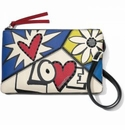Brighton Crazy Love Bright Cross Body Pouch