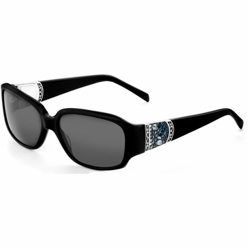 Brighton Crystal Voyage Sunglasses Black