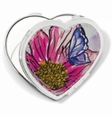Brighton Enchanted Garden Heart Compact Mirror