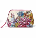 Brighton Enchanted Garden Large Cosmetic Pouch Multi