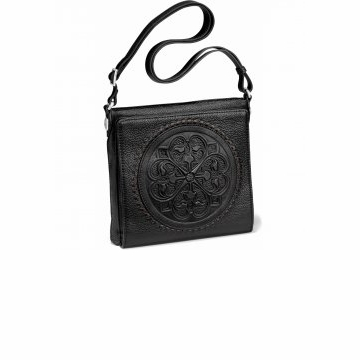 Brighton Ferrara Cross Body Organizer Black