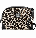 Brighton Ferrara Sauvage Large Hair-On Cross Body Pouch