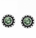 Brighton Green Twinkle Color Mini Post Earrings