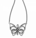 Brighton Interlok Unity Butterfly Necklace