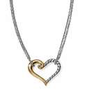 Brighton Kindred Heart Petite Necklace