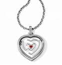 Brighton Labyrinth Heart Necklace