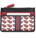 Brighton Love Doodle Card Coin Case Multi