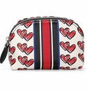 Brighton Love Doodle Mini Coin Purse Multi