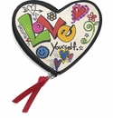Brighton Love Scribble Heart Coin Purse Multi