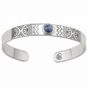Brighton Marrakesh Mirage Cuff Bracelet Blue