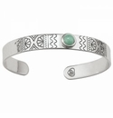 Brighton Marrakesh Mirage Cuff Bracelet Jade