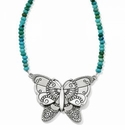 Brighton Marrakesh Oasis Butterfly Necklace
