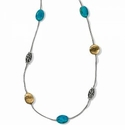 Brighton Mediterranean Turquoise Long Necklace