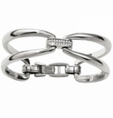 Brighton Meridian Swing Duet Hinged Bangle