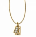 Brighton Meridian Zenith Charm Necklace Gold