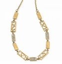 Brighton Meridian Zenith Choker Necklace Gold