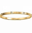 Brighton Meridian Zenith Station Bangle Gold