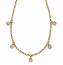 Brighton Meridian Zenith Station Necklace Gold