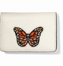 Brighton Monarch Dreams Beaded Card Case