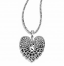 Brighton Mumtaz Heart Convertible Necklace
