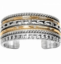 Brighton Neptune's Rings Double Hinged Bangle