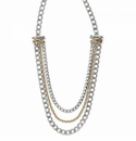 Brighton Neptune's Rings Multiple Row Chain Necklace