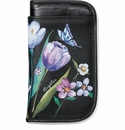 Brighton Noir Jardin Double Eyeglass Case Black-Multi