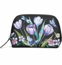 Brighton Noir Jardin Large Cosmetic Pouch Black-Multi
