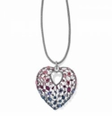 Brighton One Love Convertible Heart Necklace Multi