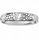 Brighton Pebble Rings Hinged Bangle