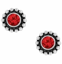 Brighton Red Twinkle Color Mini Post Earrings