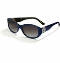 Brighton Seascape Anchor Sunglasses Navy-Tortoise
