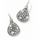 Brighton Silver Anatolia Post Drop Reversible Earrings