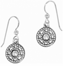Brighton Silver Illumina French Wire Earrings