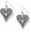 Brighton Silver Mumtaz Romance French Wire Earrings
