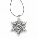 Brighton Snowflake Kisses Convertible Long Necklace