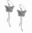 Brighton Solstice Butterfly Dangle French Wire Earrings