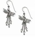 Brighton Solstice Dragonfly French Wire Earrings