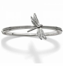 Brighton Solstice Dragonfly Hinged Bangle